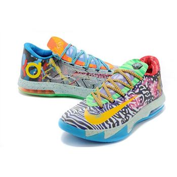 Beautiful Nike Zoom KD VI Mandarin duck KD6 Basketball Shoes