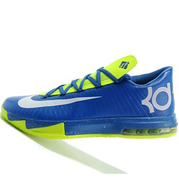 Best price for Nike KD6 Fluorescent green Kevin Durant Basketball shoes
