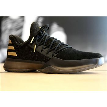 Adidas Harden Vol. 1 Core Black Metallic Gold