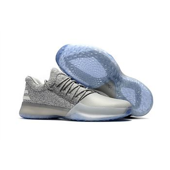 Adidas James Harden Vol. 1 Gray White