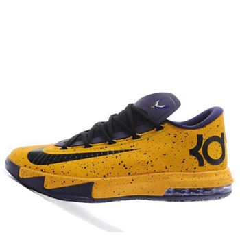 Cheap Nike KD VI KD6 puple yellow Shoes