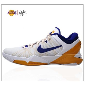 Best Nike Kobe VII 7 Lakers Match Colors Basketball Shoes