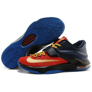 Hot sale NIKE KD VII KD 7 Black Red Shoes