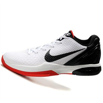 Hot Black Nike Kobe VIII 8 Zoom white black Shoes