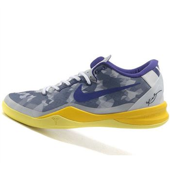 Elegant Nike Kobe VIII 8 Zoom System purple gray Shoes