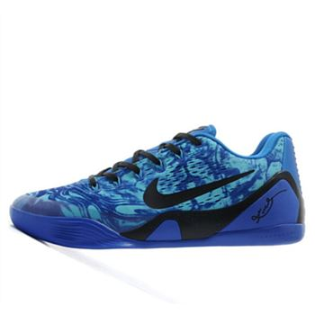Attractive Nike Kobe 9 IX Low Independence Day Blue Black