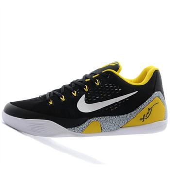 Good Nike Kobe 9 IX Low Independence Day Black yellow