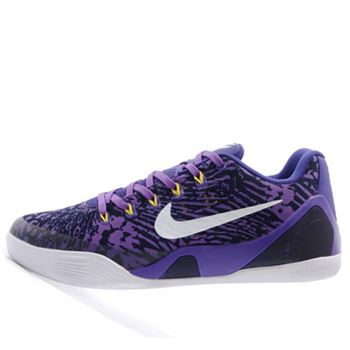 Fabulous Nike Kobe 9 IX Low Independence Day Purple