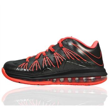 Hot Black Nike LeBron X Low easter Basketball Shoes