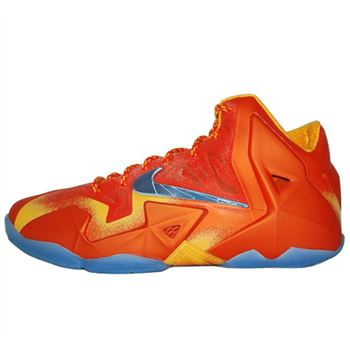 Low cost Nike LEBRON 11 Lava Basketball Shoes